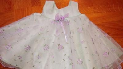 Malutka nowa sukieneczka BONNIE BABY SIZE 0-3M USA
