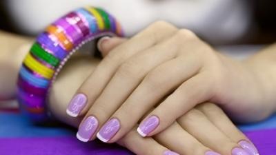 Manicure i pedicure hybrydowy z dojazdem Wesoła