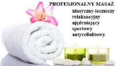 Masaż leczniczy Piaseczno (Dojazd do Klienta)