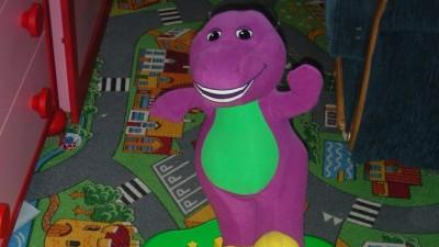 mata do tańca Fisher price Barney