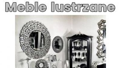 Meble lustrzane ,szafka ,komoda,lustro i inne na jokodecor.pl