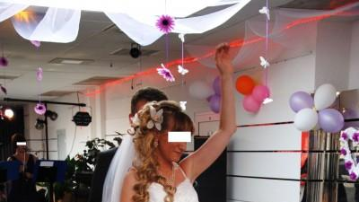moja suknia ślubna:)