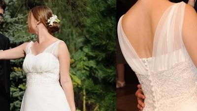 Muślinowa suknia idealna dla kobiet w ciąży (i nie tylko)