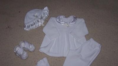 Na chrzest dla malutkiej dziewczynki