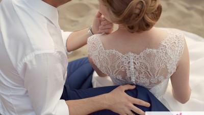 NABLA FONDEA koronkowa sukienka ślubna