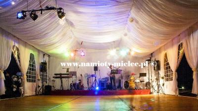 Namiot weselny wynajem, bankietowy namiot na wesele, wynajem namiotów Mielec.