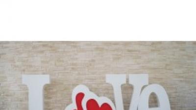 Napis weselny slubny LOVE litery wynajem