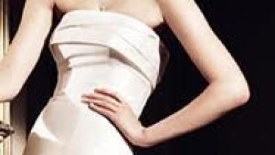 Niebagatelna suknia slubna SENEGAl Manuela Mota dla Pronovias