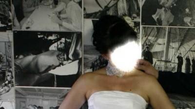 Niedrogo sprzedam białą suknię z salonu Marietta