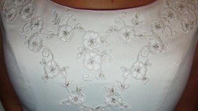 Niepowtarzalna elegancka suknia ślubna