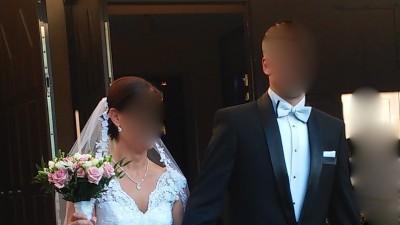 Niepowtarzalna koronkowa suknia ślubna rozm. 38/M model 2015