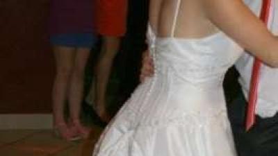 Niepowtarzalna suknia ślubna!
