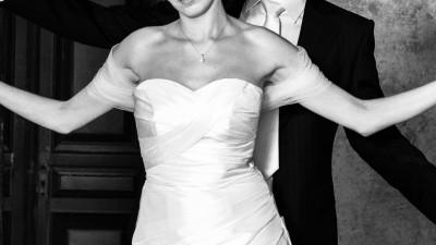 Niepowtarzalna suknia ślubna (rozmiar 36) w kolorze ivory