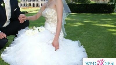 Niepowtarzalna suknia ślubna TANIO