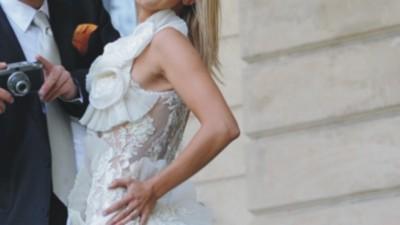 niesamowita, oryginalna suknia ślubna Maggio Ramatti rozm. 36