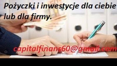 Niezawodne, szybkie inwestycje, finanse i pozyczki
