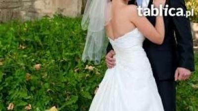 niezwykła suknia ślubna