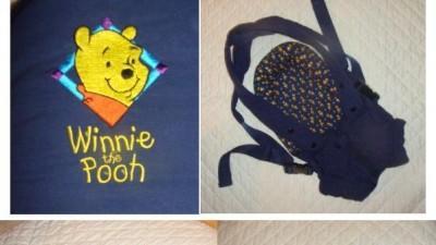 Nosidełko niemowlęce Winnie The Pooh firmy Tomee Tippee