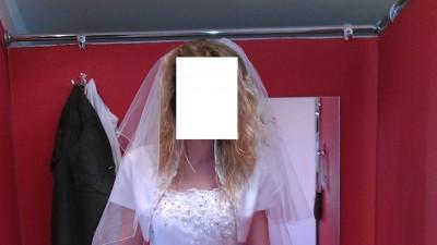 Nowa biała suknia ślubna plus GRRATISSY