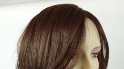 NOWA PERUKA 100% HUMAN HAIR  BRĄZ
