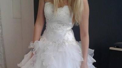 Nowa piękna suknia ślubna, rozmiar 38!!!