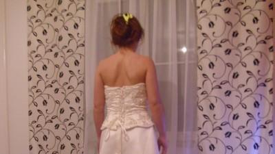 NOWA sukienka, kolor ECRI,  rozm.38