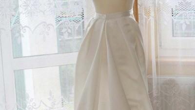 Nowa sukienka za 1/3 ceny, rozmiar 34/36, dłuugi tren+ dodatki GRATIS!!!