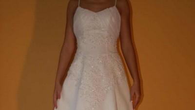 Nowa suknia ślubna biała rozm. 36