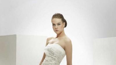Nowa suknia ślubna Mystic Col. Toscania ecru 38