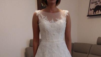 NOWA Suknia ślubna PRONOVIAS model Mel 2015 rozm.38/40
