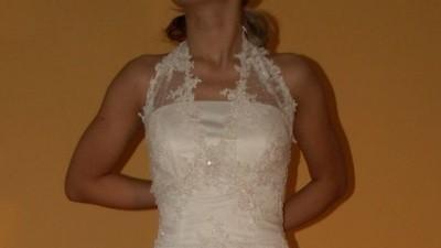 Nowa suknia ślubna SPOSABELLA 552, kol. biały, rozm. 38