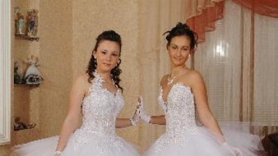 nowa suknia ślubna  typu princessa