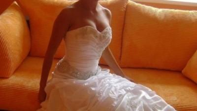 nowa suknia slubna z salonu wyprzedaż kolekcji