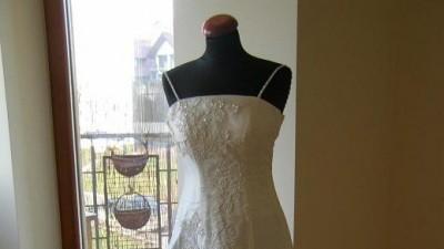 Nowa suknia ślubna za 380 złotych śliczna!