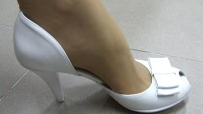 Nowe buty slubne na platformie nr 39