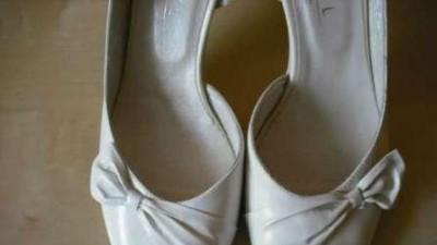 Nowe skórzane buty ślubne KOTYL r.40