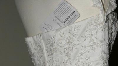 Nowiutka suknia z Paryża