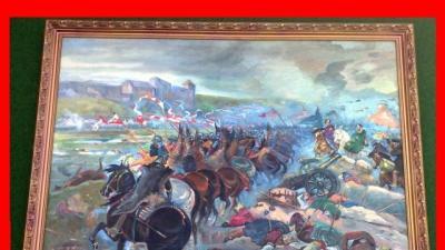 Obraz Bitwa Kossak. 1673 r. SYGNOWANY raty 0 %