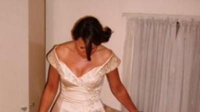 Okazja!!  cudowna suknie w kolorze szamapana