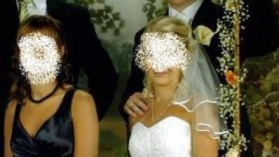 okazja! nie droga , ładna suknia ślubna, rozm.36/38, 165/170cm , 300zł