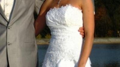 Okazja!!! Niepowtarzalna suknia ślubna Estera MS MODA, roz.36!