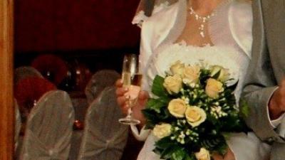 OKAZJA!!! Prześliczna suknia MS Moda, roz. 36, snieżnobiała!!!