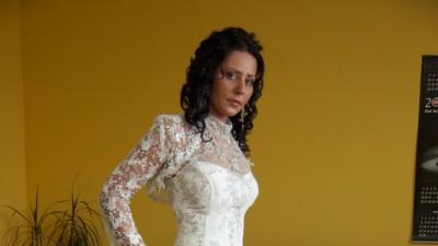 Okazja-Sprzedam tanio wyjątkową suknię ślubną 38