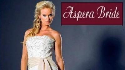Okazja! Suknia ślubna Aspera kolekcja 2009 tylko za 50% ceny