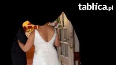OKAZJA!!!Suknia ślubna Atelier Diagonal 1810GRATIS