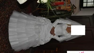 OKAZJA! Tanio sprzedam suknie slubną