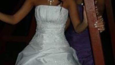 okzaja! piekna suknia ślubna