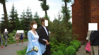 Olśniewająca, niebanalna suknia ślubna dla księżniczki.
