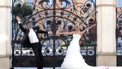 orginalna suknia slubna firmy Pronovias model donaire