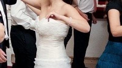 Orginalna/zapierąjąca dech suknia/MAGGRIO RAMATTI/DAPHNEE Jak NOWA!!!